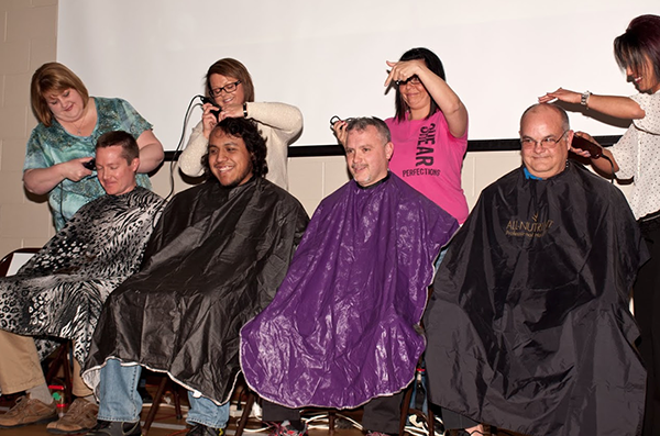 4 Hart teachers get their heads shaved to reward students for reading
