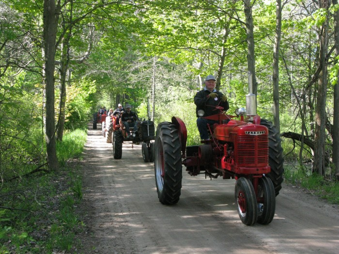 7th annual tractor ride will travel through southeastern Mason County