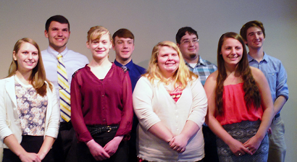 Mason, Manistee, Oceana all-star students