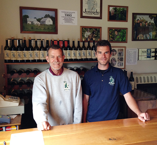 Jomagrha Vineyards and Winery provides a local taste