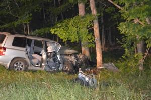 Pentwater man injured after crash; driver arrested