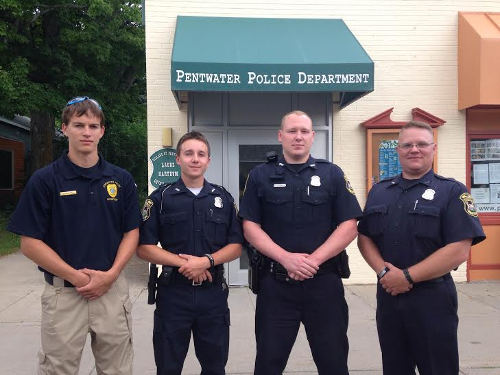 Pentwater welcomes new officers
