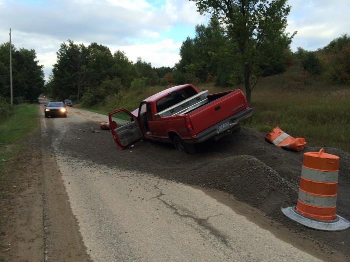 2 injured in Monroe Road crash.