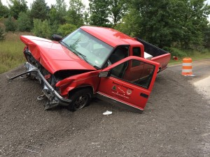 Police: alcohol a factor in weekend crash