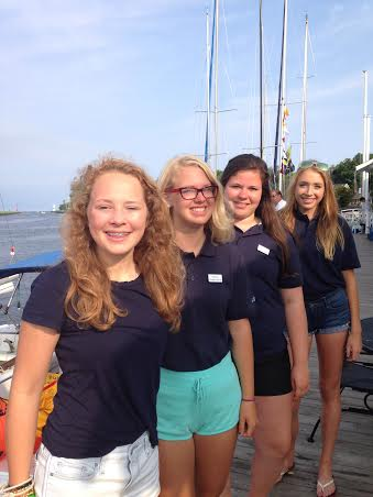 First all-girl teen crew competes in regatta