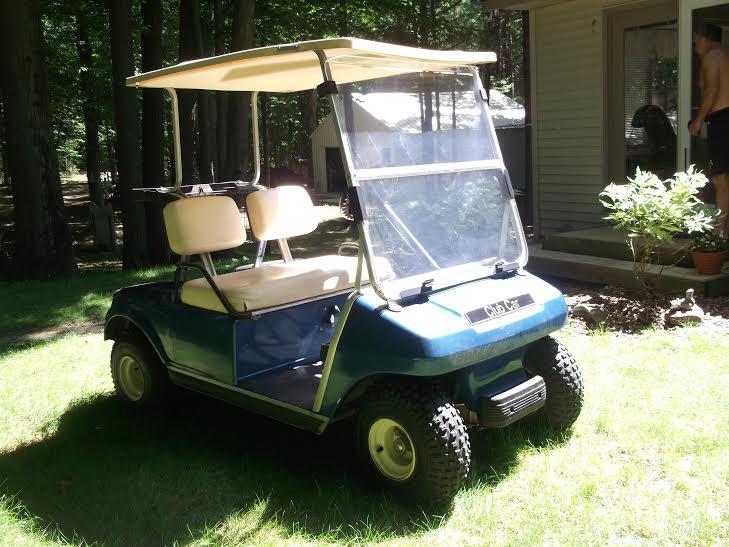 Police seek info about golf cart stolen in break-in