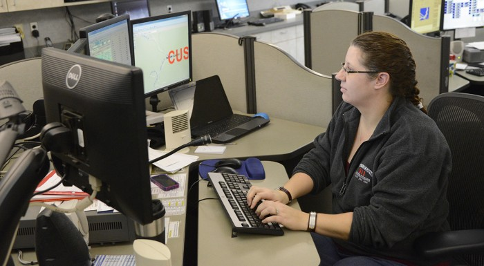 Last call, dispatcher changing careers.