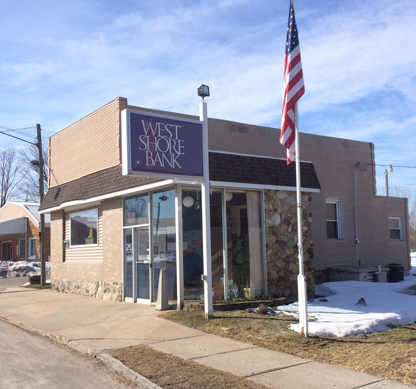 West Shore Bank to consolidate Fountain, Walkerville branches.