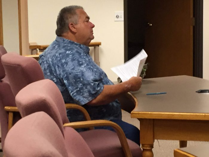 Criminal case against fired police chief moves forward.