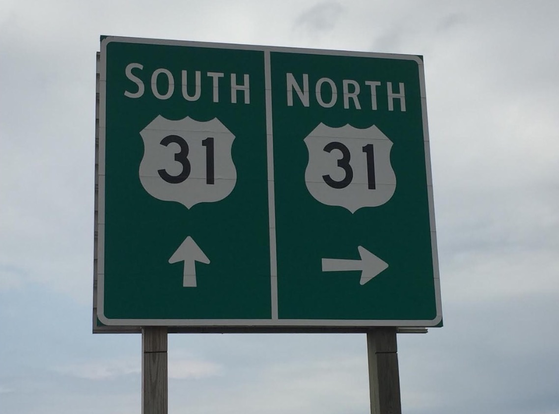 US 31 off-ramp to Shelby Road re-opens.