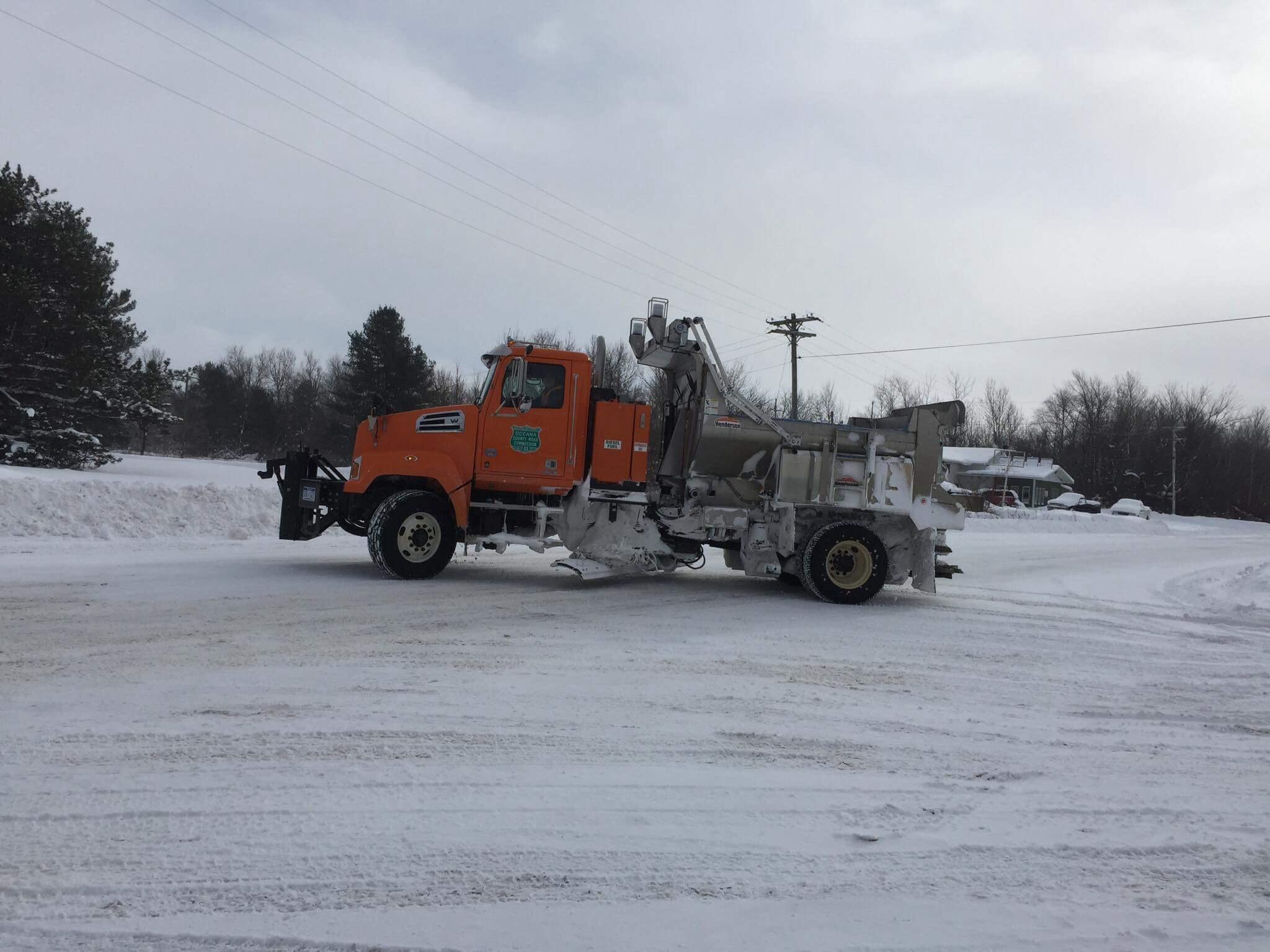 Plow drivers battling tough winter.
