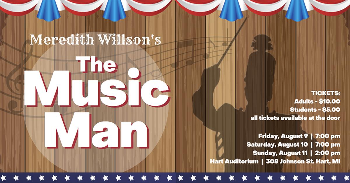 Hart community theater presents 'The Music Man'