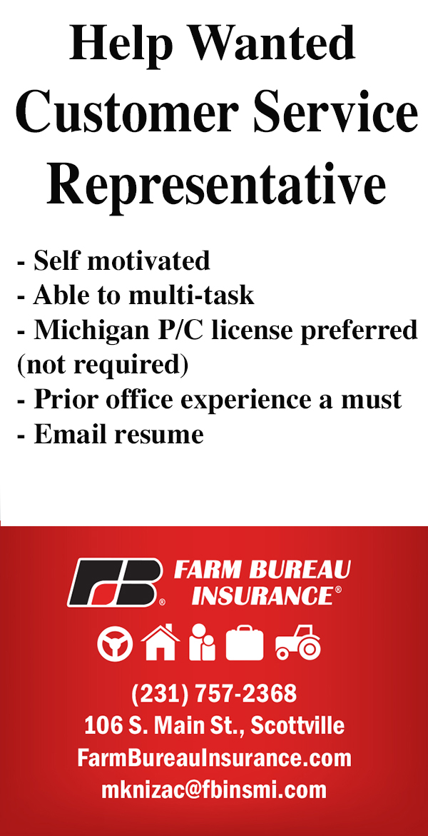 Help Wanted: Farm Bureau Insurance